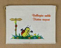 Óvodai ballagó tarisznya 11-es minta (katica)