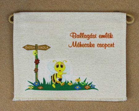 Óvodai ballagó tarisznya 19-es minta (méhecske)