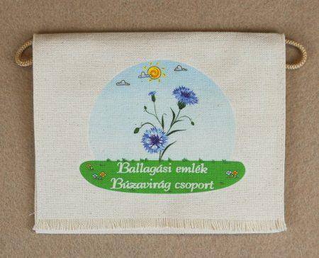 Óvodai ballagó tarisznya 22-es minta (búzavirág)