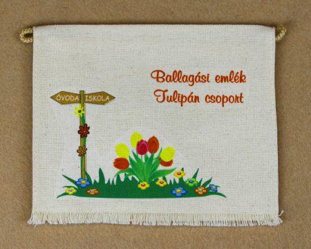 Óvodai ballagó tarisznya 23-as minta (tulipán)