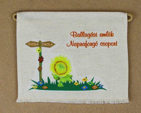 Óvodai ballagó tarisznya 24-es minta (napraforgó)