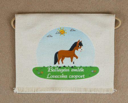 Óvodai ballagó tarisznya 56-os minta (kislány+táska)