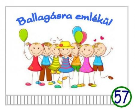 Óvodai ballagó tarisznya 57-es minta (gyerek csoport)
