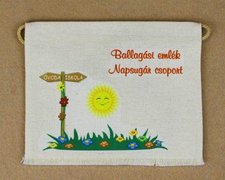 Óvodai ballagó tarisznya  79-es minta (napsugár)