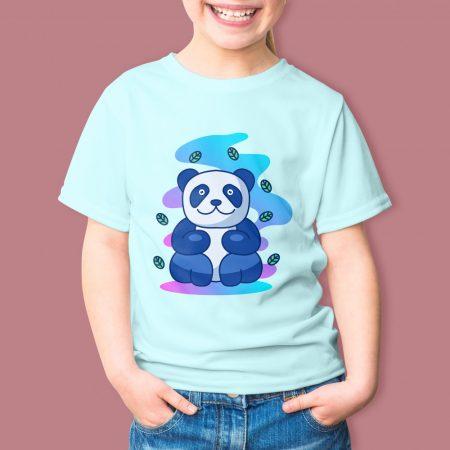 Színes gyerekpóló színes flex nyomattal