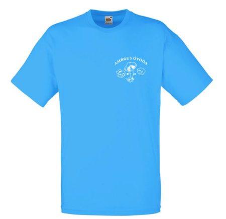 Színes felnőtt póló egyszínű flex nyomattal